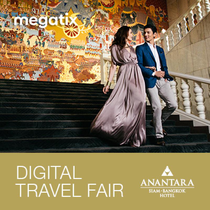 Anantara Siam Bangkok Hotel - 1st Megatix Digital Travel Fair