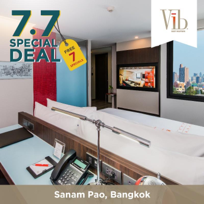 7.7 Special   โรงแรมไวบ์ เบสท์เวสเทิร์น สนามเป้า