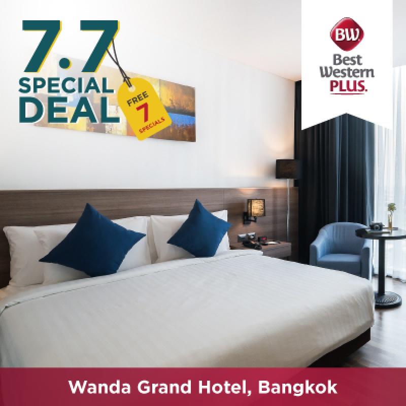 7.7 Special   โรงแรมเบสท์เวสเทิร์น พลัส แวนดา แกรนด์ แจ้งวัฒนะ