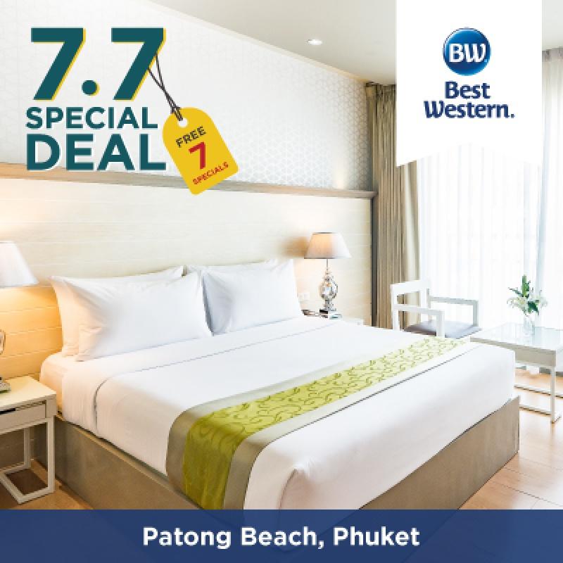 7.7 Special   โรงแรมเบสท์เวสเทิร์นป่าตองบีช