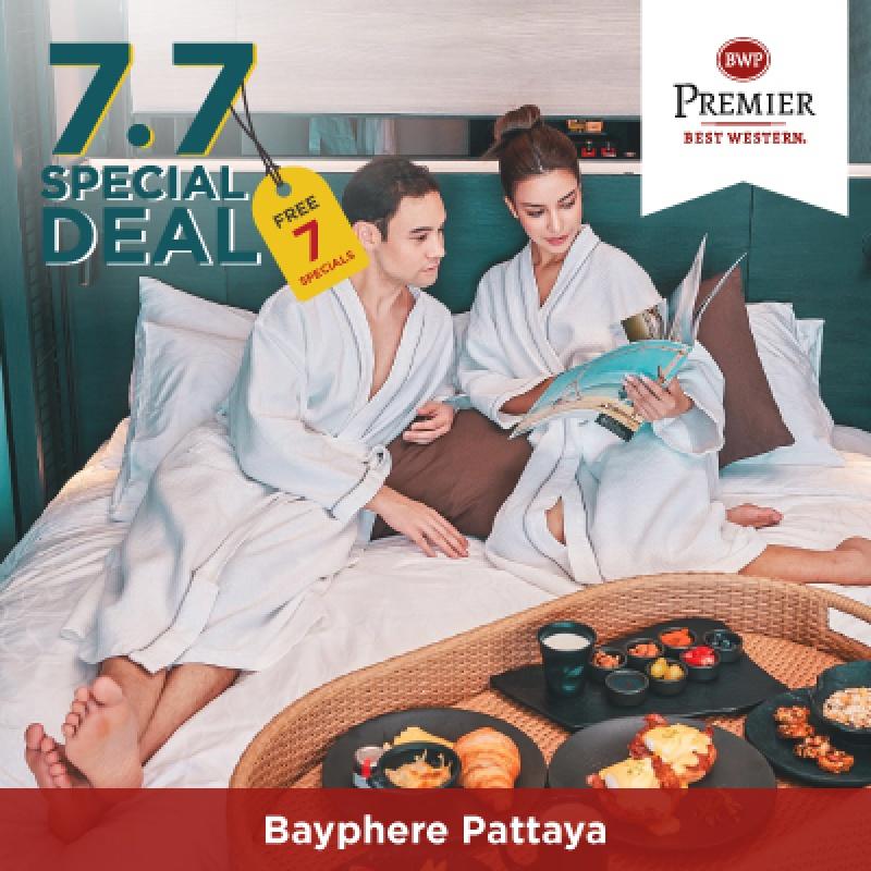 7.7 Special Deal   โรงแรมเบสท์เวสเทิร์น พรีเมียร์ เบย์เฟียร์ พัทยา