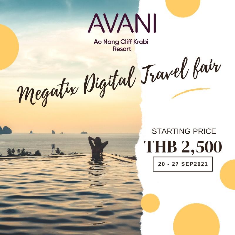 Avani Ao Nang Cliff Krabi Resort   อวานี อ่าวนาง กระบี่   1st Megatix Digital Travel Fair