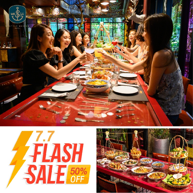 Flash Sale on 7.7 - MeStyle Museum Hotel