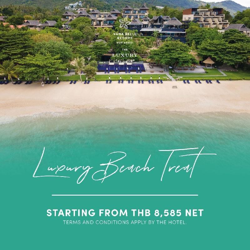 Luxury Beach Treat - 1st Megatix Digital Travel Fair
