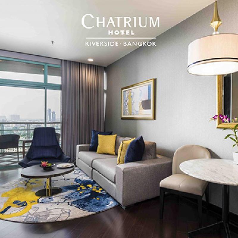 8.8 SUITE DEAL AT CHATRIUM HOTEL RIVERSIDE BANGKOK