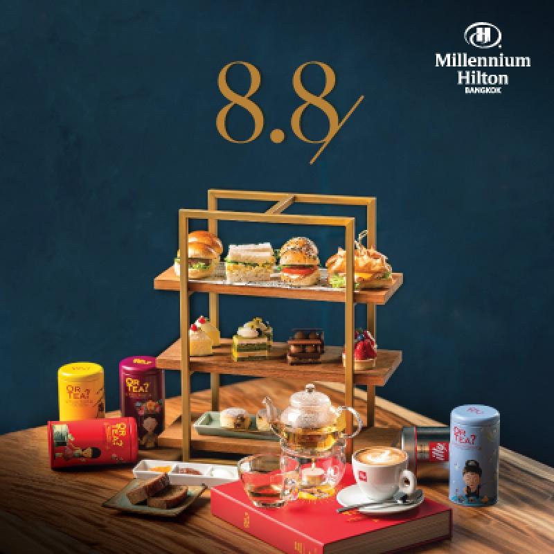 Millennium Hilton Bangkok   Signature Afternoon Tea 8.8 Flash Sales