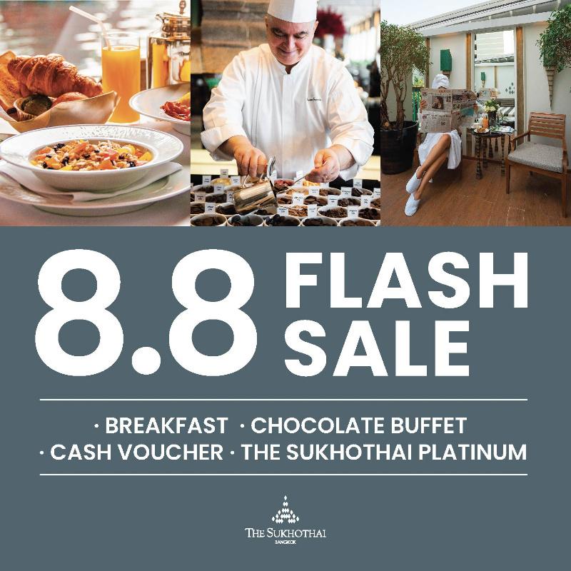 8.8 Flash Sale   The Sukhothai Bangkok