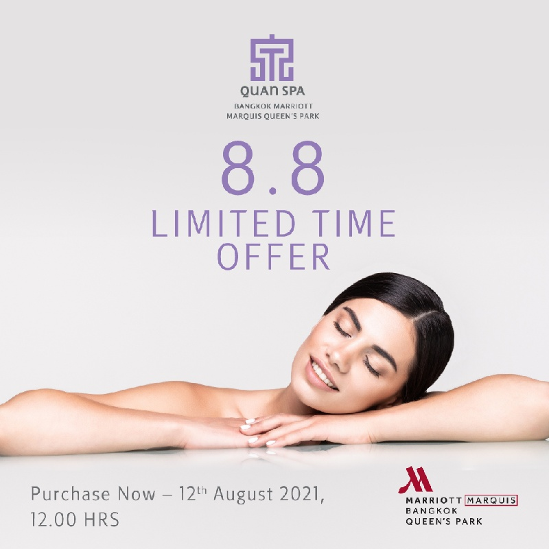 8.8 Limited time offer   Quan spa