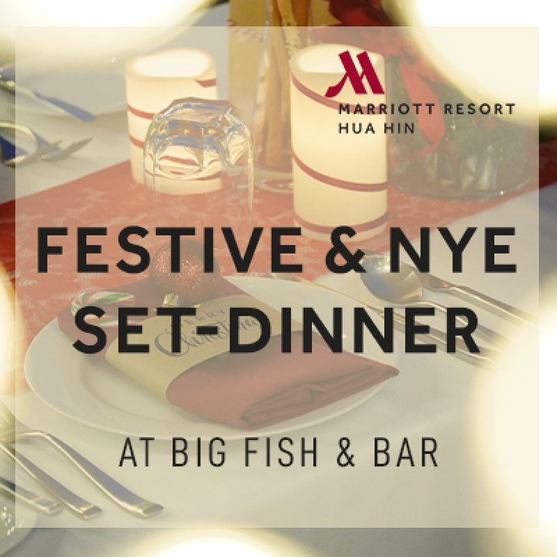 Festive & NYE 2021 Celebration I Big Fish & Bar