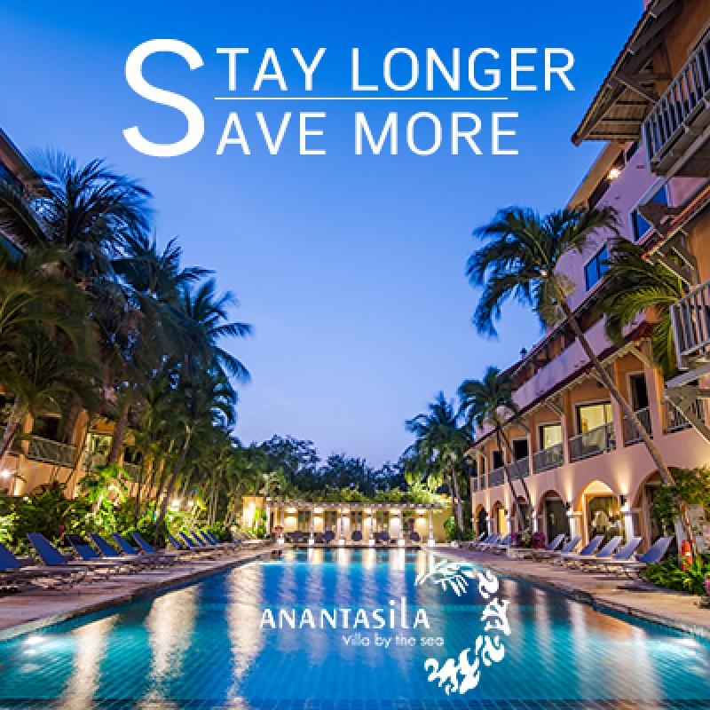 STAY LONGER & SAVE MORE! ANANTASILA VILLA BY THE SEA, HUA HIN