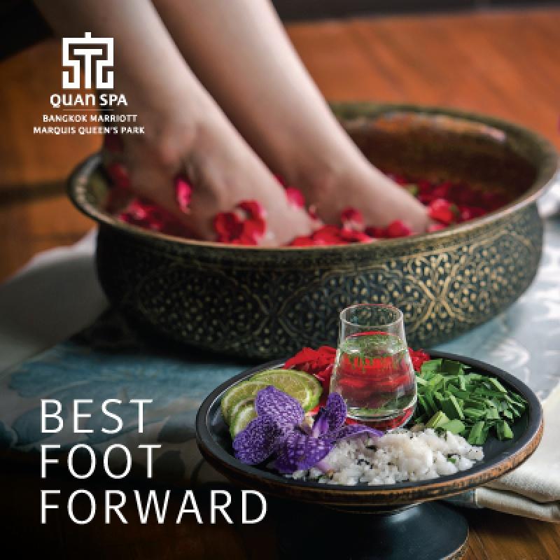WE'RE BACK   Best foot forward at Quan spa