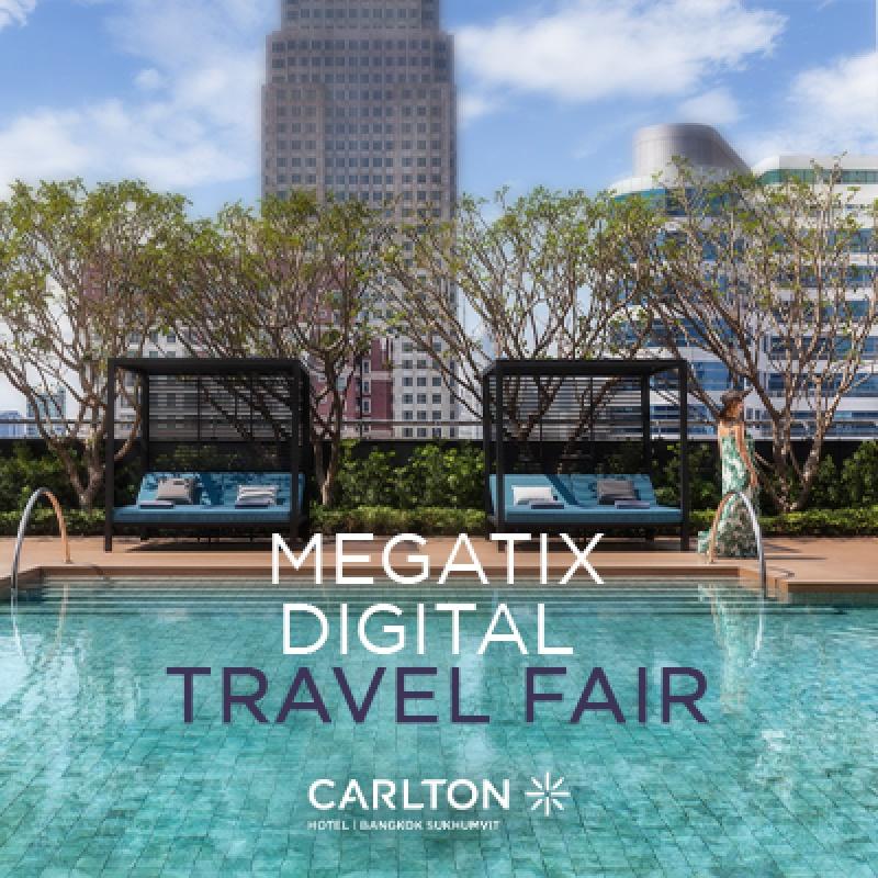 1st Megatix Digital Travel Fair I Getaway with Carlton