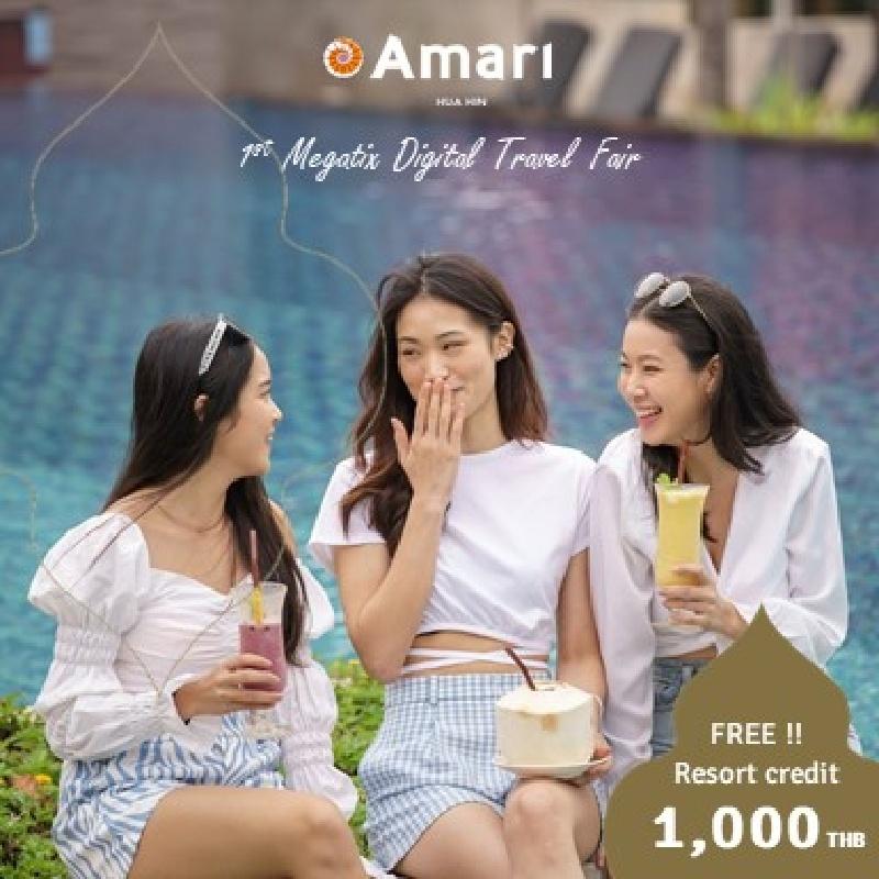 1ST MEGATIX DIGITAL TRAVEL FAIR   Amari Hua Hin