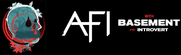 AFI with Special Guests BASEMENT & INTROVERT