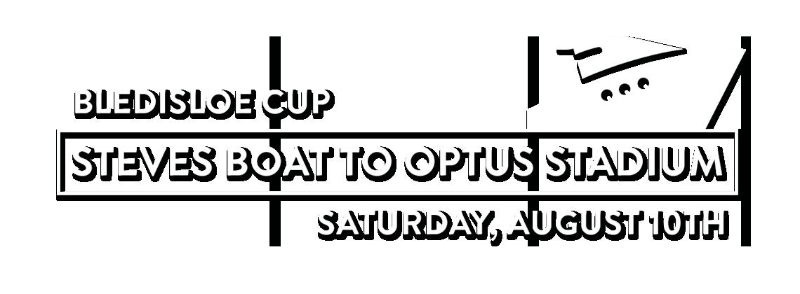 Steves Boat to Optus Stadium | State Of Origin