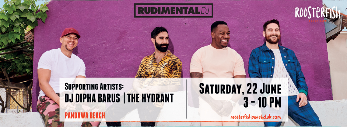Rudimental with DJ Dipha Barus & The Hydrant