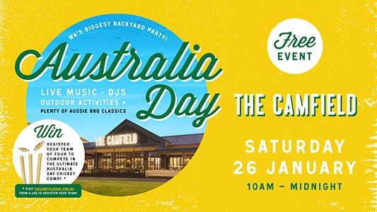 Australia Day Backyard Party