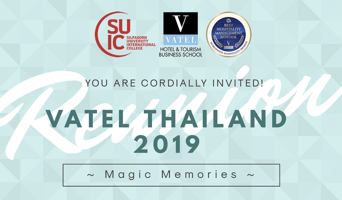Vatel Thailand ''The magic memories'' 2019