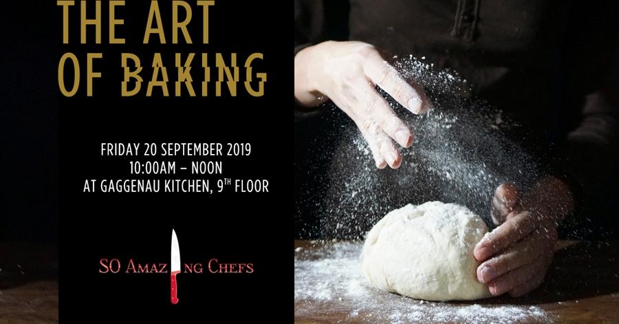 THE ART OF BAKING