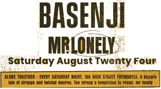 Mr. Lonely ft Basenji