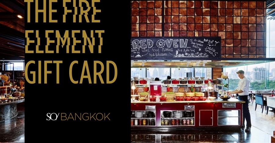 MID-YEAR FLASH SALES : THE FIRE ELEMENT CARD